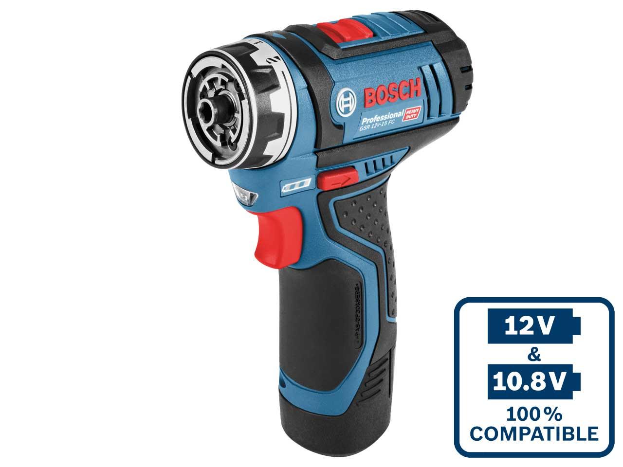 Bosch-GSR12V15FC-12v-2x2-0Ah-Flexiclick-Conductor-Taladro-Inalambrico-06019F6071