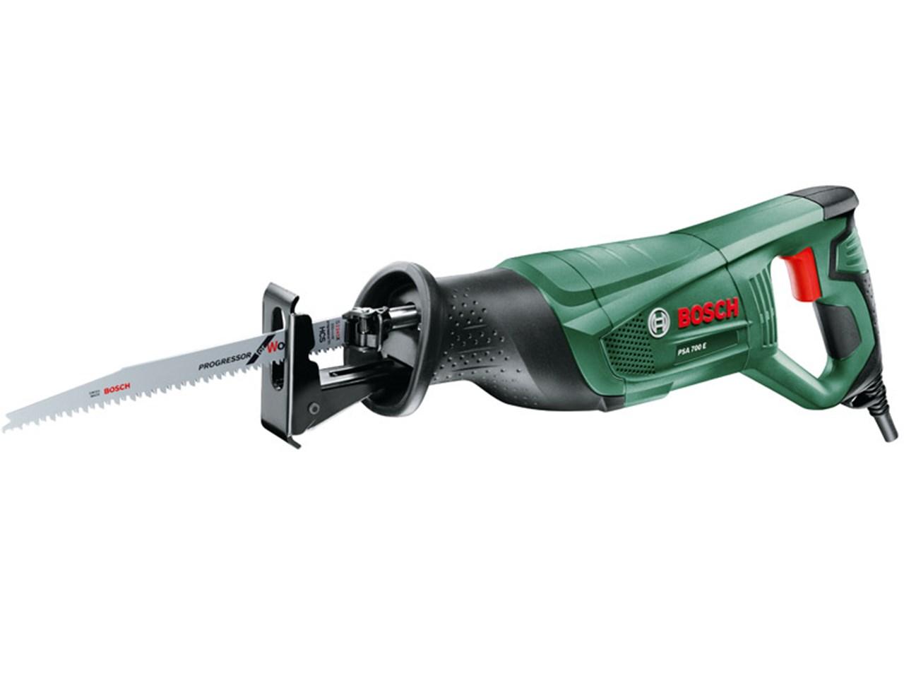 Bosch green psa700e 710w 240v sabre saw for Accesorio de iluminacion castorama