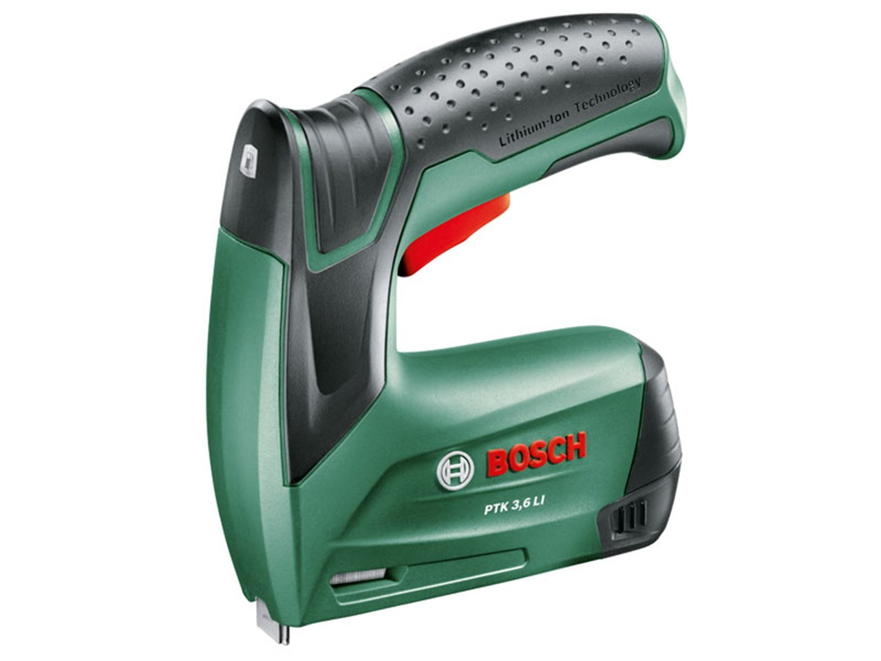 bosch green ptk 3 6 li cordless tacker. Black Bedroom Furniture Sets. Home Design Ideas