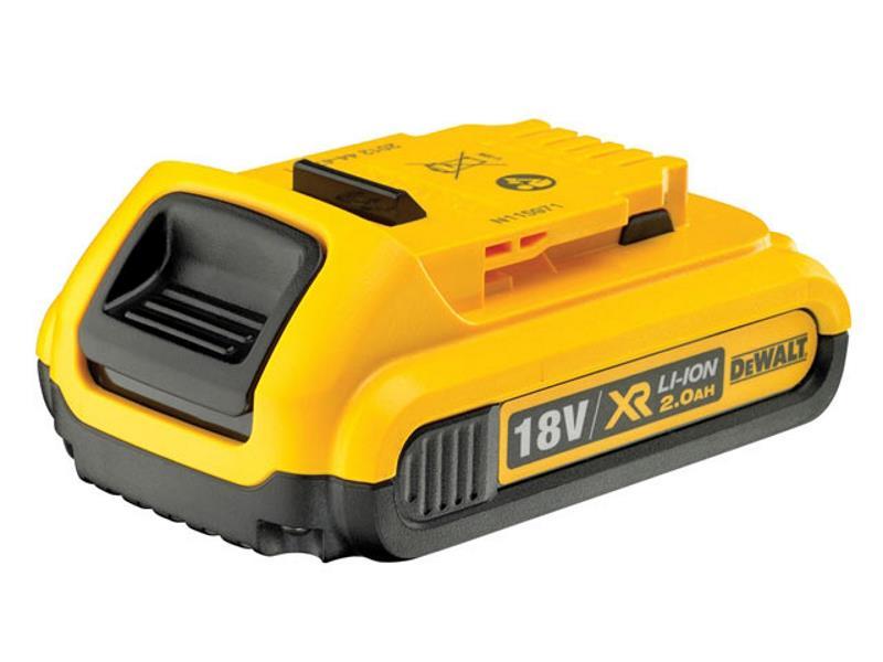 Dewalt Dcb183 Xr Battery Pack 18v Li Ion 2 0ah