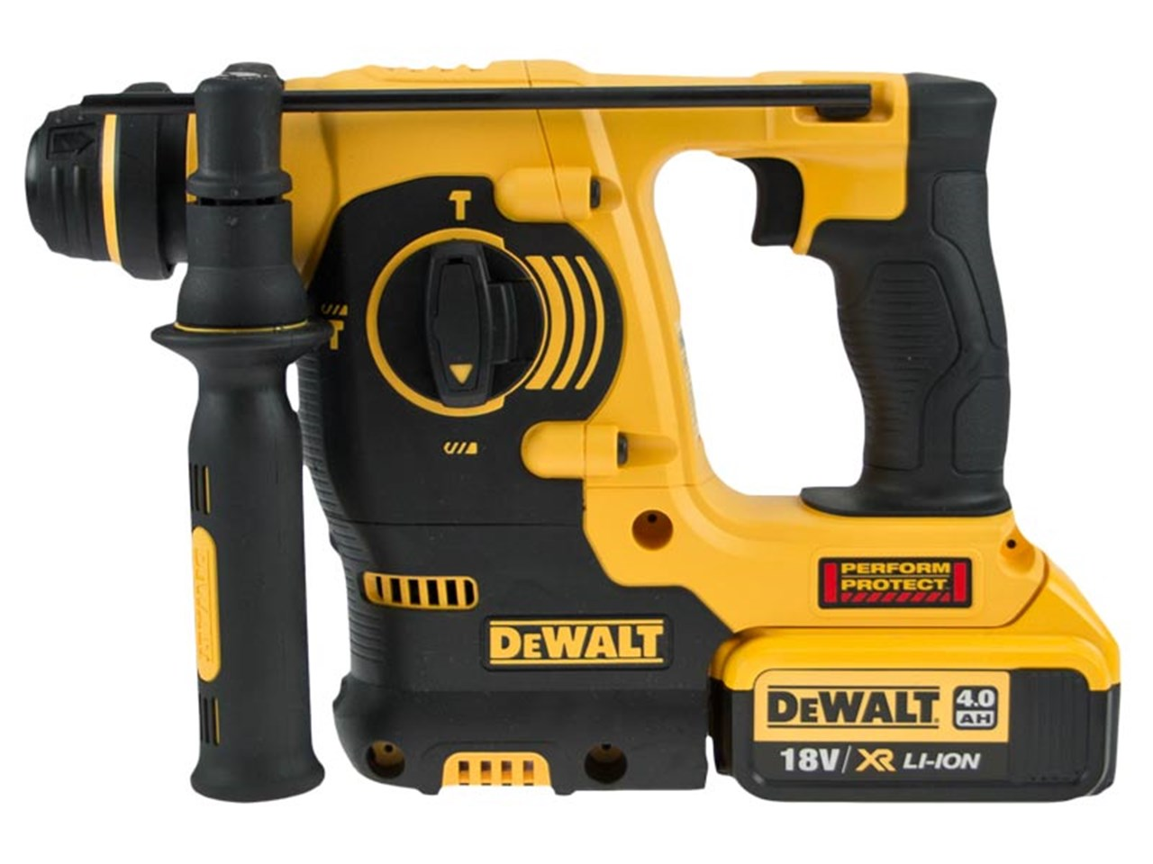 DeWalt DCH253M2 18v SDS Plus Rotary Hammer Drill Kit 2 x 4 0ah