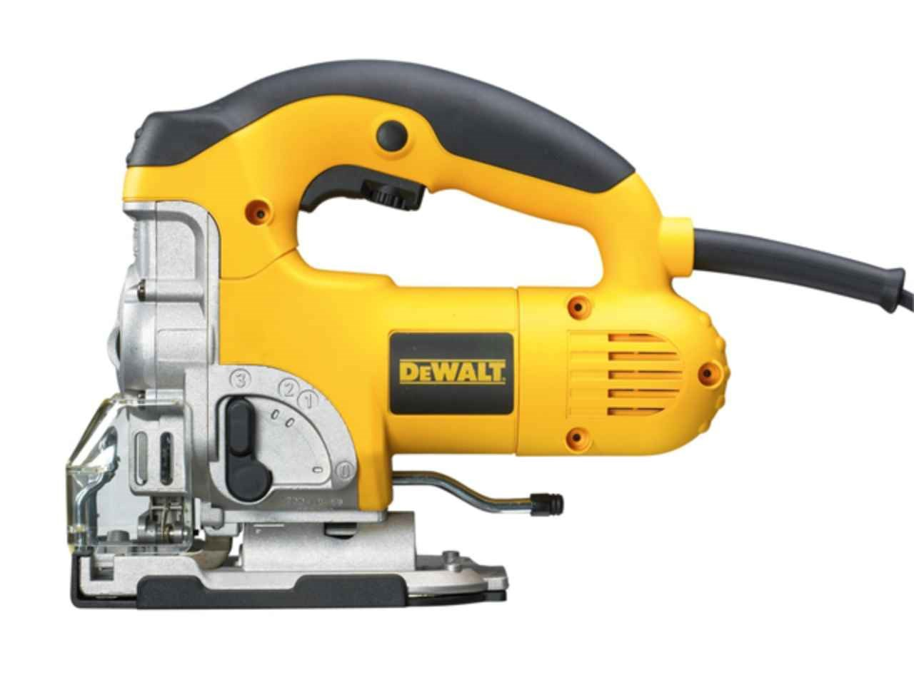 Dewalt dw331kt 230v 701w jigsaw with t stak greentooth Images