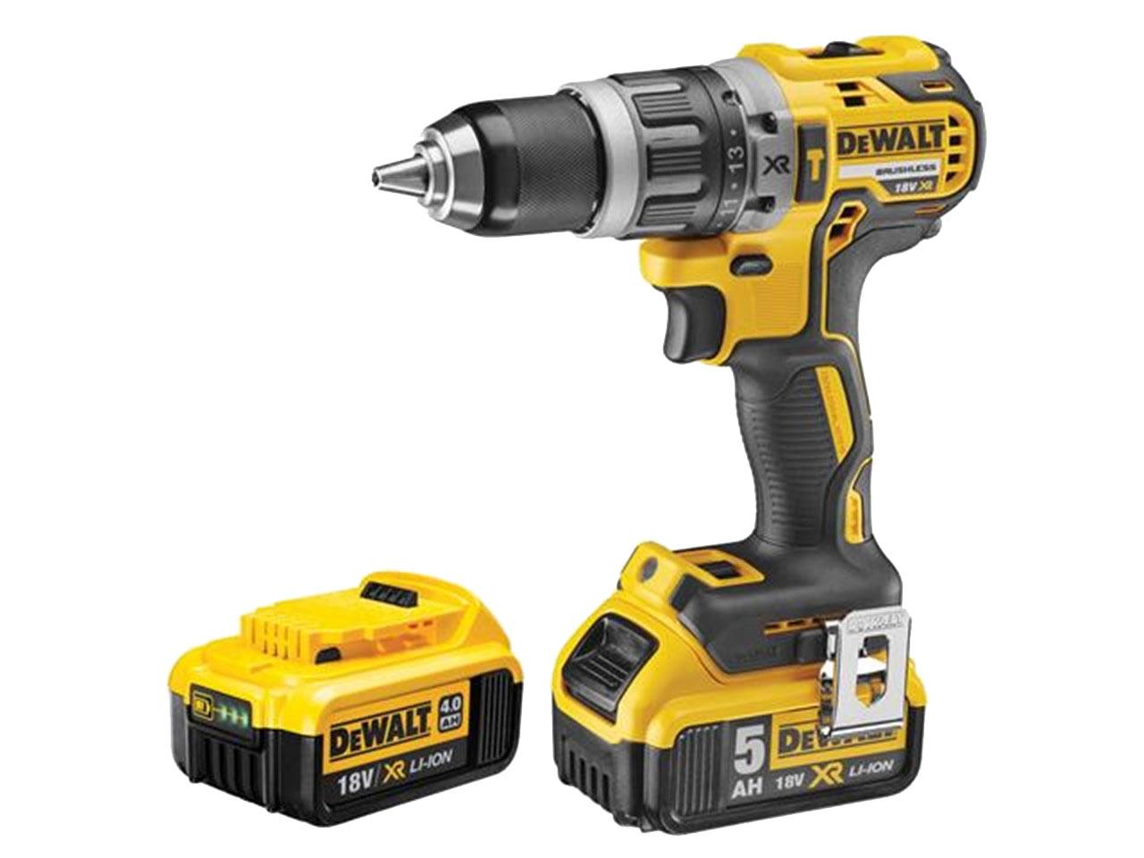 2x2.0AH  Li-ion XR batteries *NEW* Dewalt 18V XR Brushless Combi Drill Kit Inc