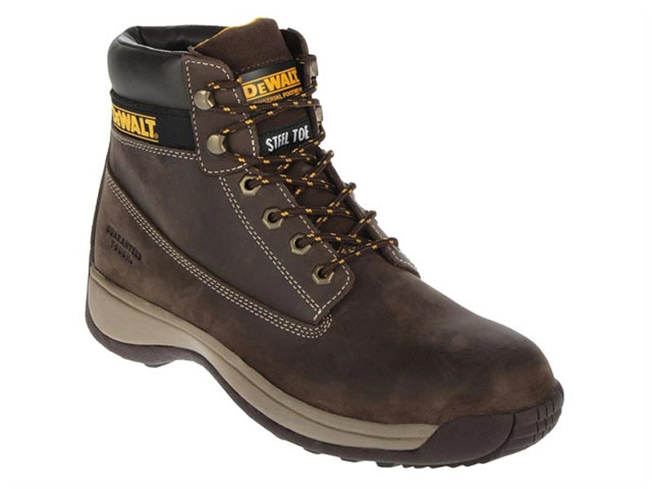 34bd722e621961 DeWalt DWF-60011-104 Apprentice Brown Nubuck Boots Size 8 - 42