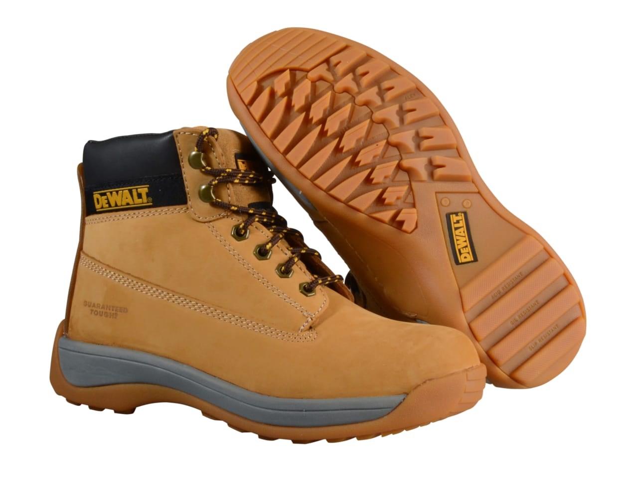 dd4756f2c3c3c7 DeWalt DWF-60011-103 Apprentice Wheat Nubuck Sports Boots 11 - 46