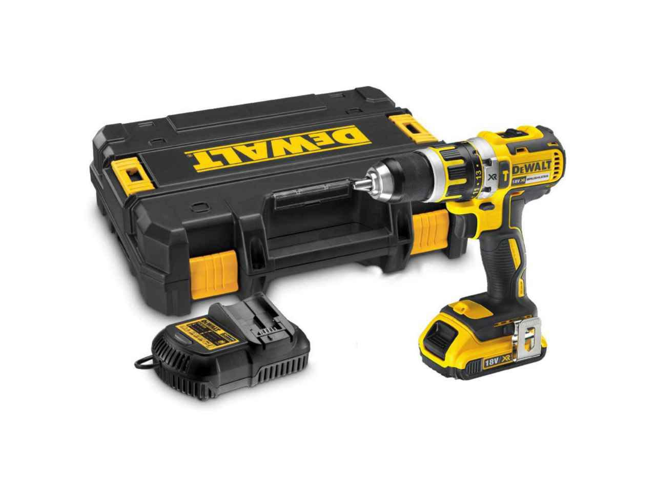 dewalt dcd795d2 compact combi hammer drill driver 18v 2 x. Black Bedroom Furniture Sets. Home Design Ideas