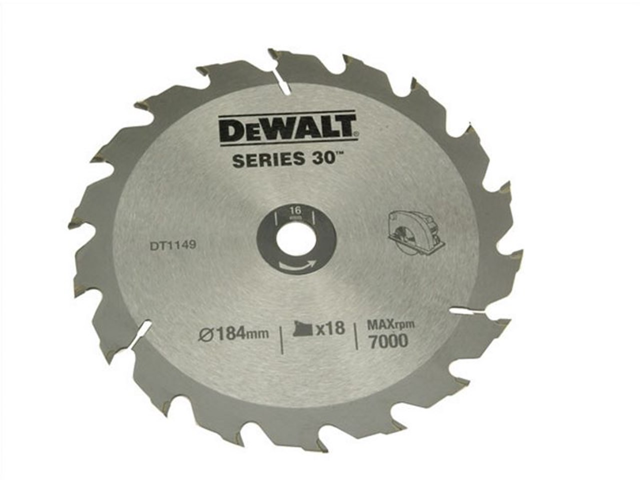 Dewalt dt1938qz construction circular saw blade 184x16mm 18t greentooth Images