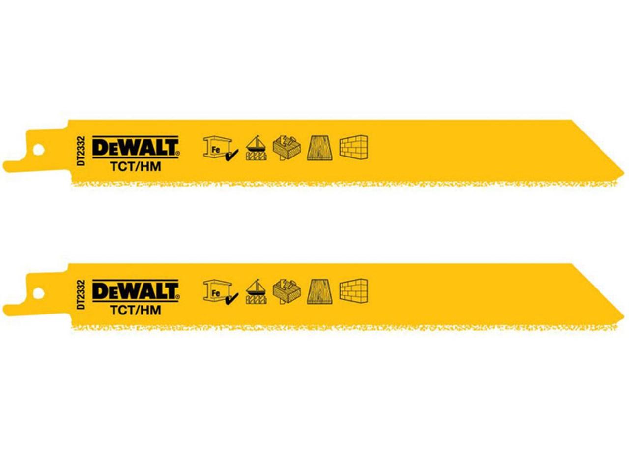Dewalt dt2332 qz pack of 2 152mm tct grit recip saw blades keyboard keysfo Gallery