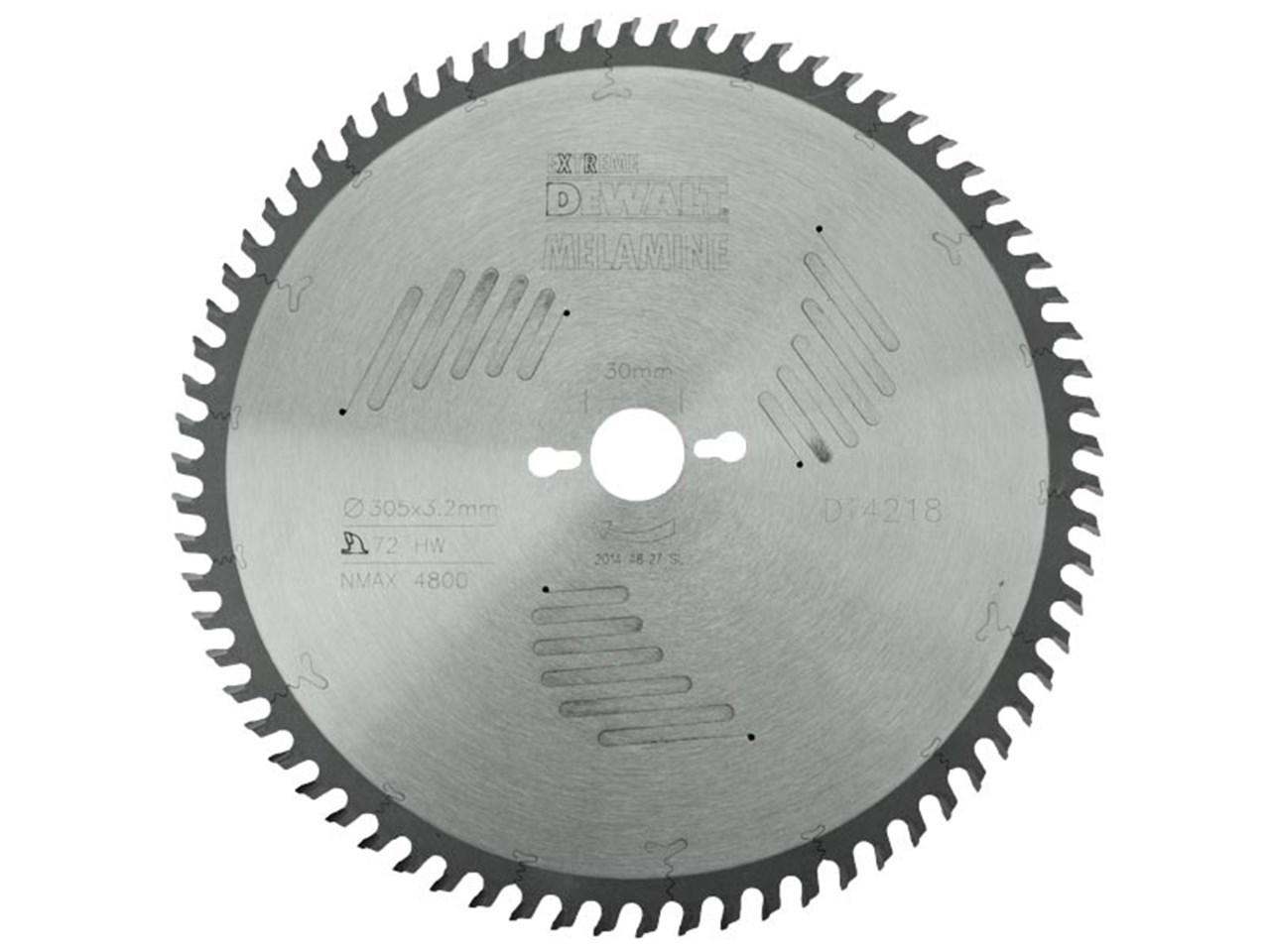 Dewalt dt4218 qz 305 x 30 x 72t hollow ground circular saw blade greentooth Choice Image