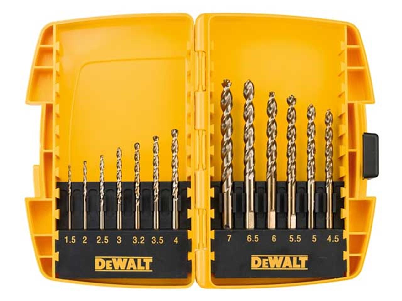 Dewalt Dt7920b Qz 13pc Extreme 2 Metal Drill Bit Set