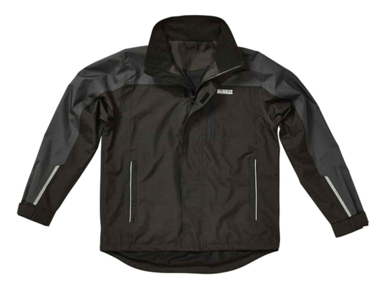 DeWalt DEWSTORMXXL Storm Grey/Black Waterproof Jacket XXL