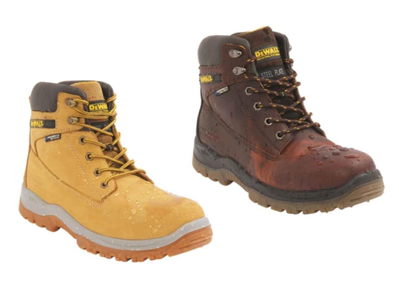 73dc83e5e55 DeWalt DEWTITANIUMTAN9 Titanium Tan S3 Safety Boots UK 9 Euro 43