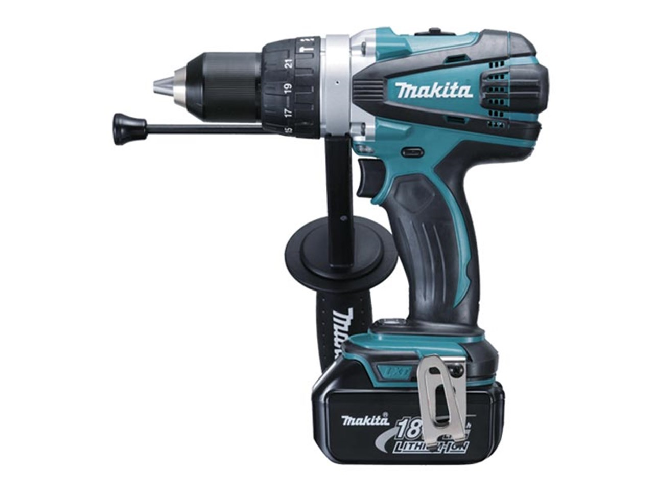 makita dhp458rf3j 18v lxt 3x3ah li ion combi drill kit. Black Bedroom Furniture Sets. Home Design Ideas