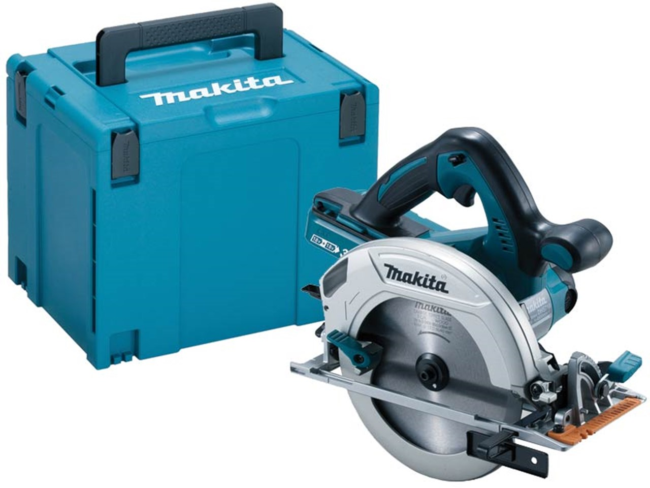makita dhs710zj 18v twin lxt 190mm circular saw makpac. Black Bedroom Furniture Sets. Home Design Ideas