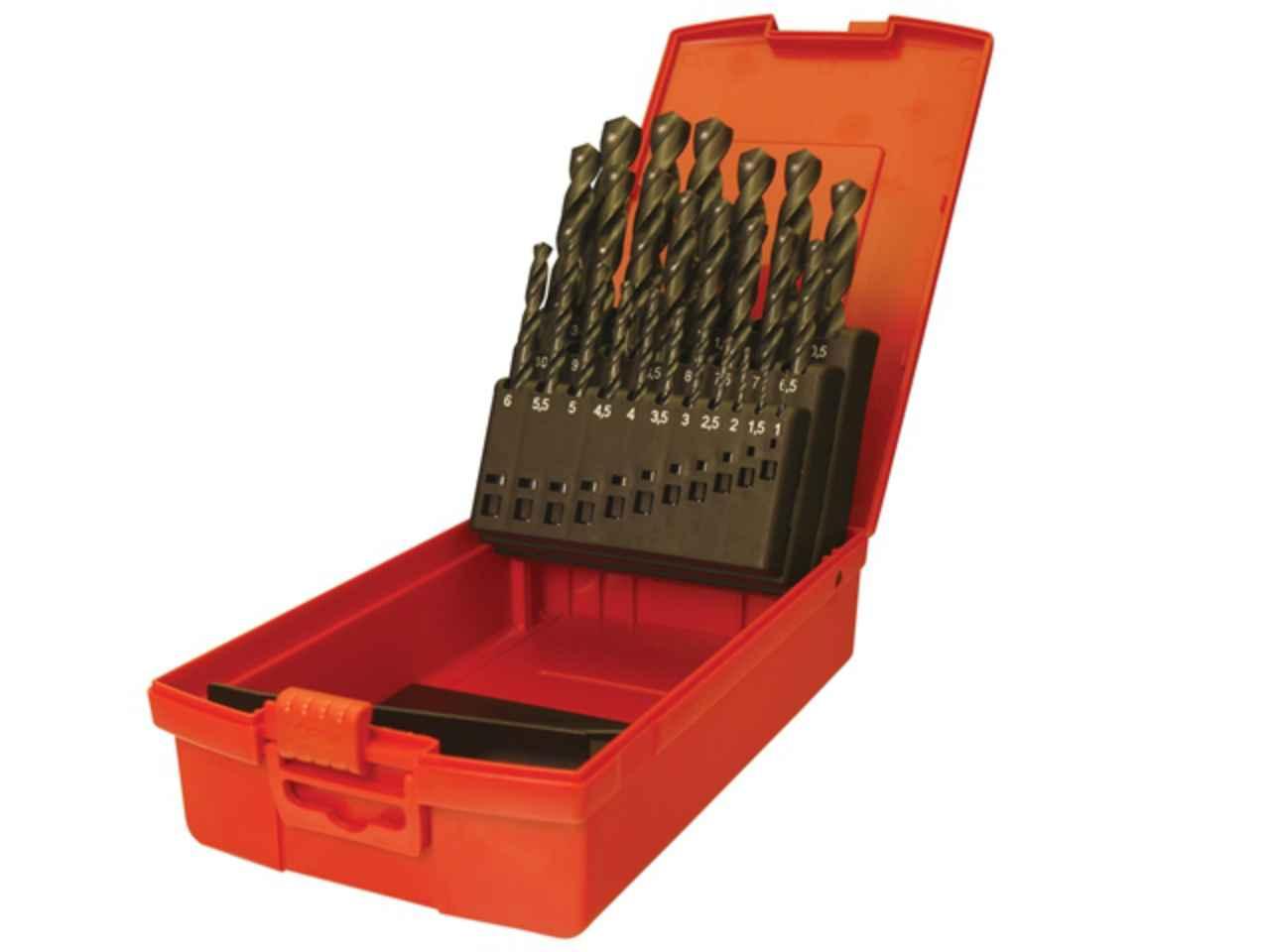1.0 mm 13.0 mm x 0.5 mm Size Dormer A190204 Jobber Drill Set