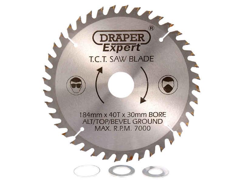 Draper csb210p Expert TCT Sägeblatt 210 x 30mm x 24T