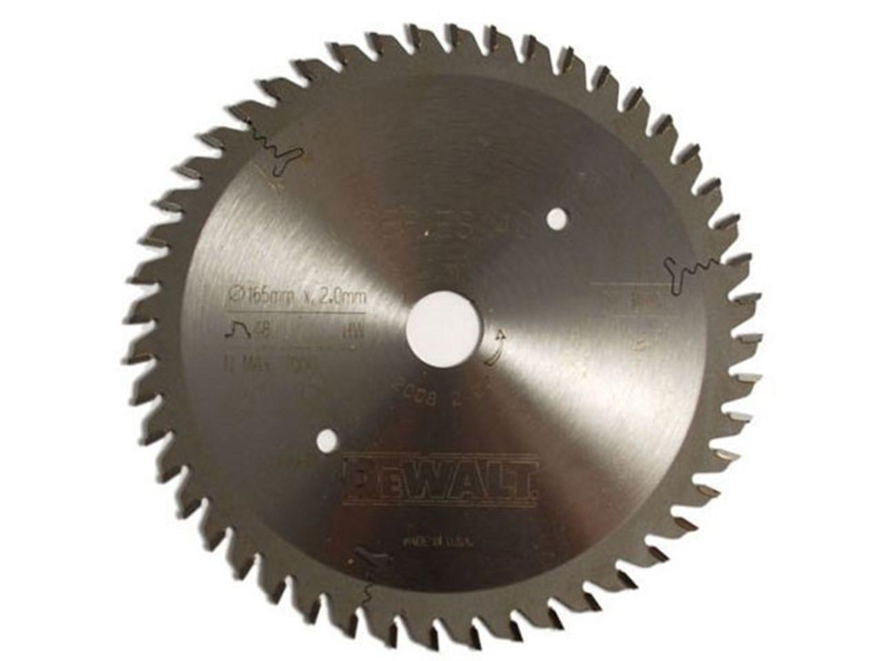 Dewalt dt1090qz plunge saw blade 165 x 20 x 48t greentooth Gallery