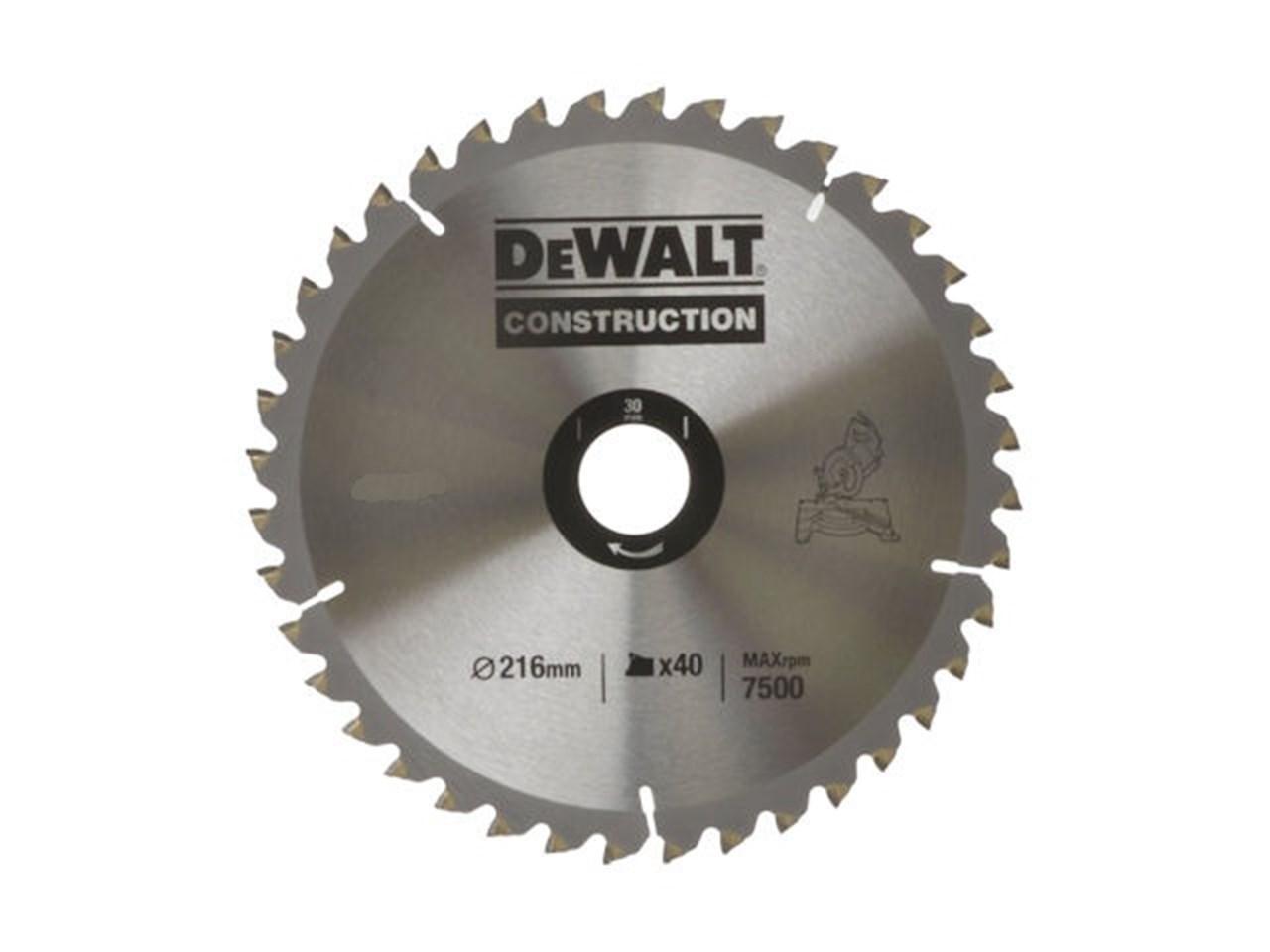 Dewalt dt1153 qz circular saw blade construction 190 x 30 x 40t greentooth Gallery