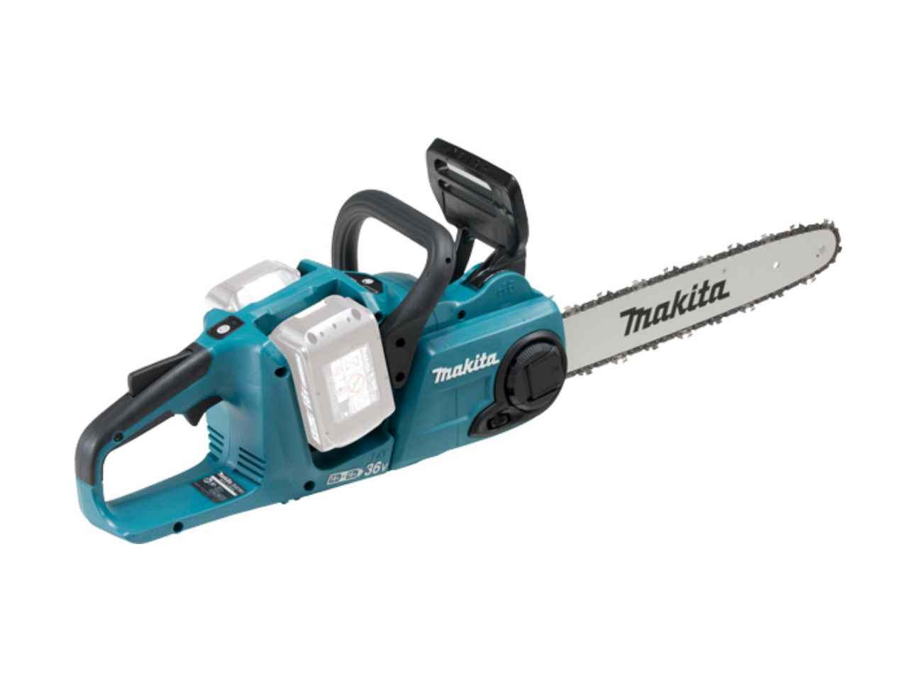 makita duc353z 18v 36v li ion chainsaw 350mm bl lxt ebay. Black Bedroom Furniture Sets. Home Design Ideas