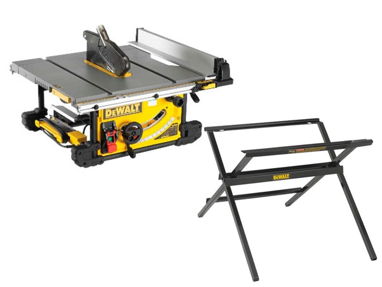 Dewalt Dwe7491dwe74912 240v 250mm Table Saw And Scissor