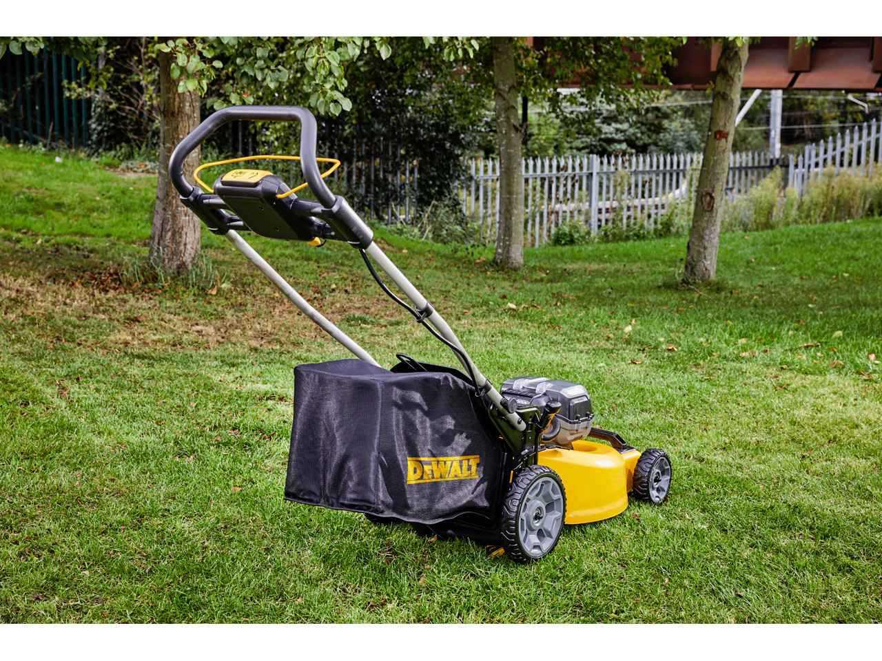 Dewalt DCMW564RN Twin 18v Bare 36v XR Cordless 48cm Lawn Mower Brushless