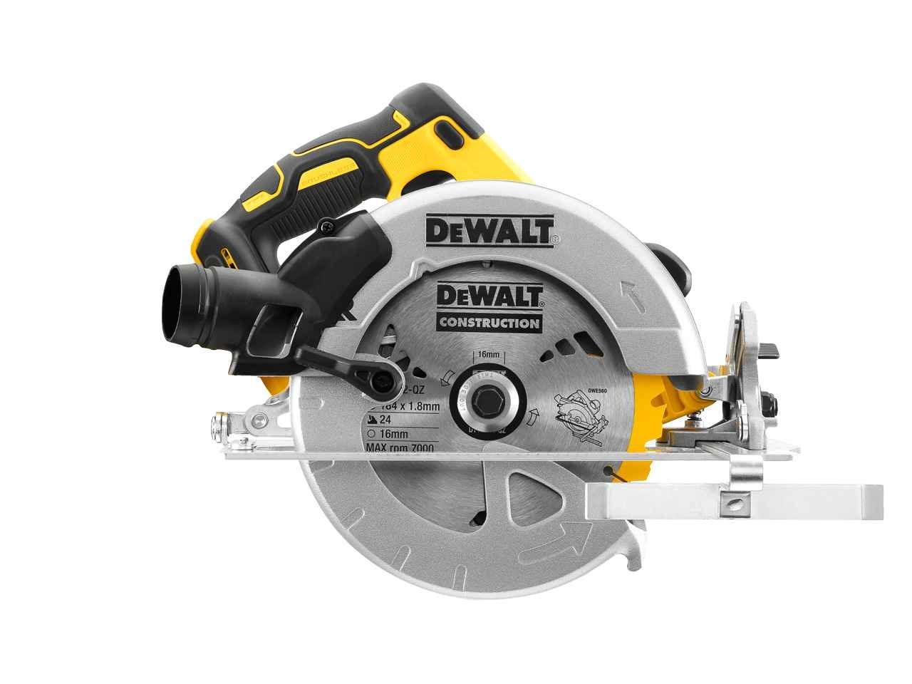 Dewalt dcs570n 18v xr brushless 184mm circular saw bare unit dewalt authorised reseller greentooth Image collections