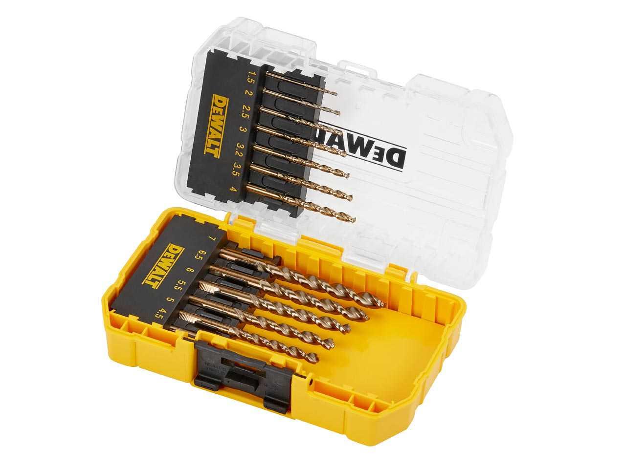 10pk DeWalt DT5550QZ Extreme 2 Metal Drill Bit 6.5 x101mm