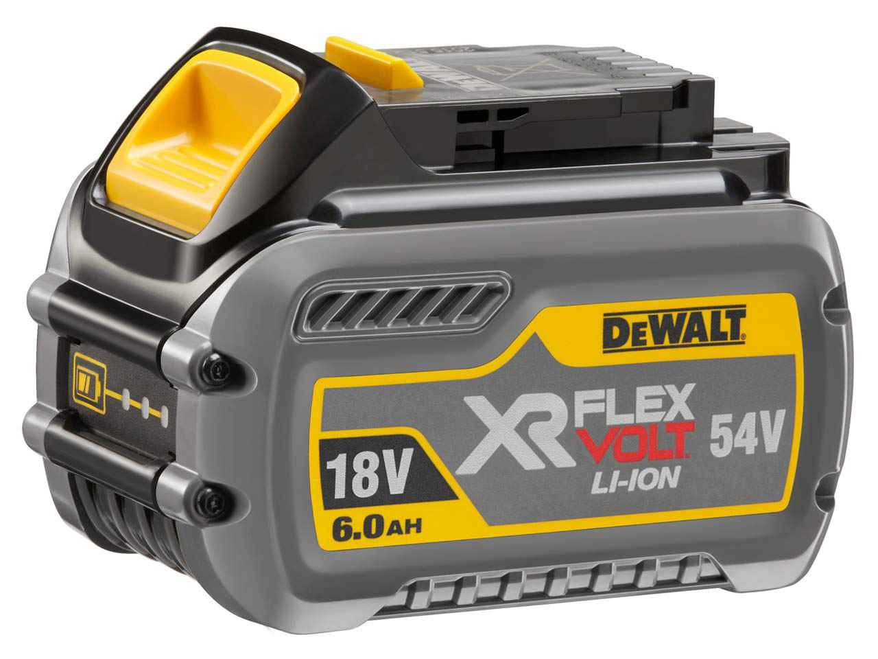 DeWalt DCB546 18v/54v XR 6 0Ah Li-ion FlexVolt Battery Pack