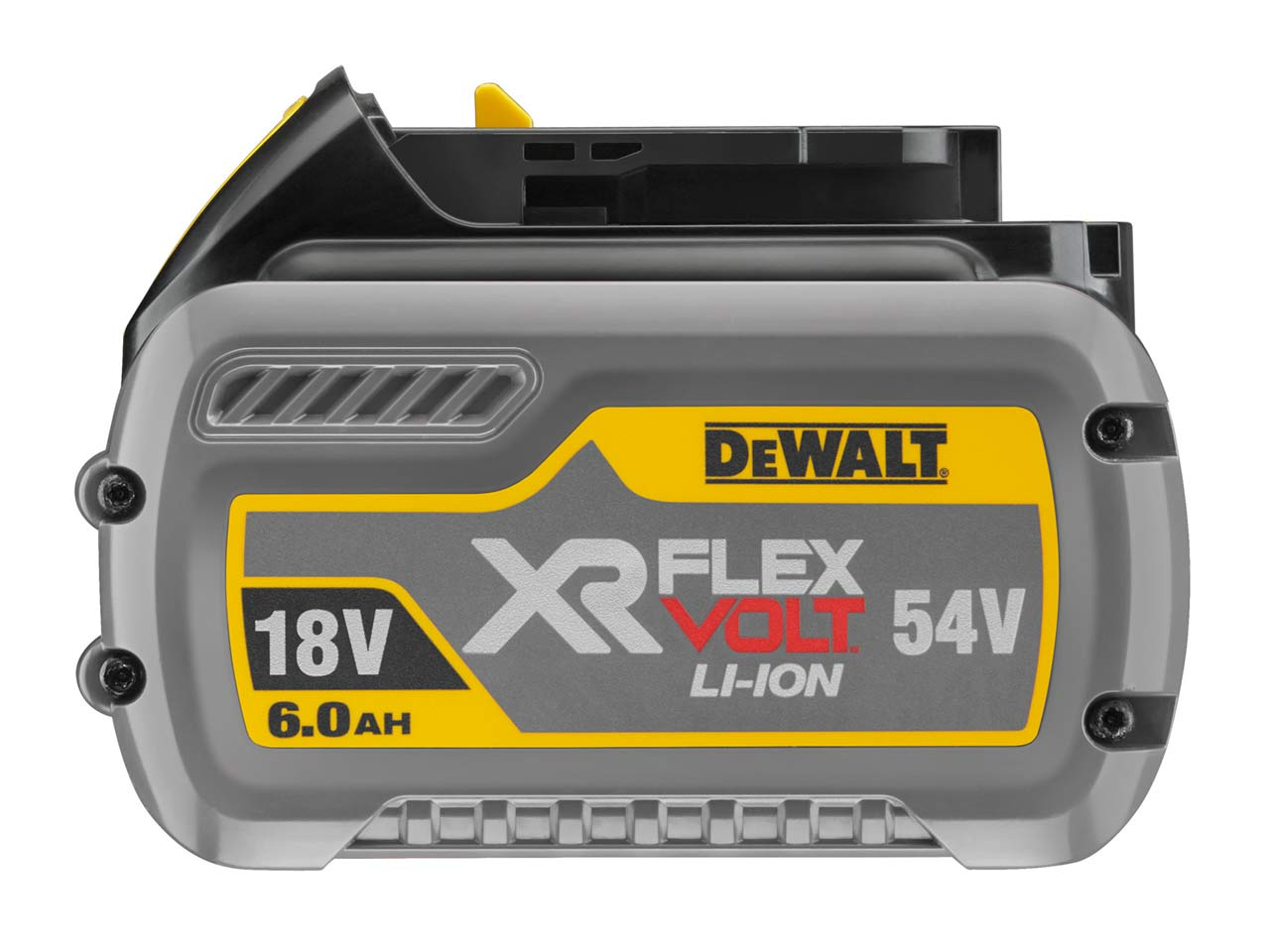 dewalt dcb546 xj 18v 54v xr flexvolt 6 0ah li ion battery. Black Bedroom Furniture Sets. Home Design Ideas