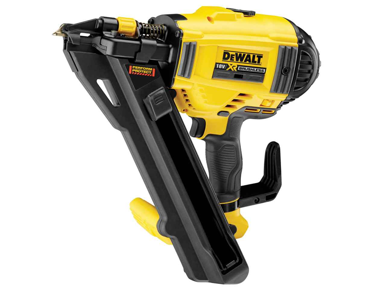 dewalt dcn694n xj 18v xr li ion positive placement nailer. Black Bedroom Furniture Sets. Home Design Ideas