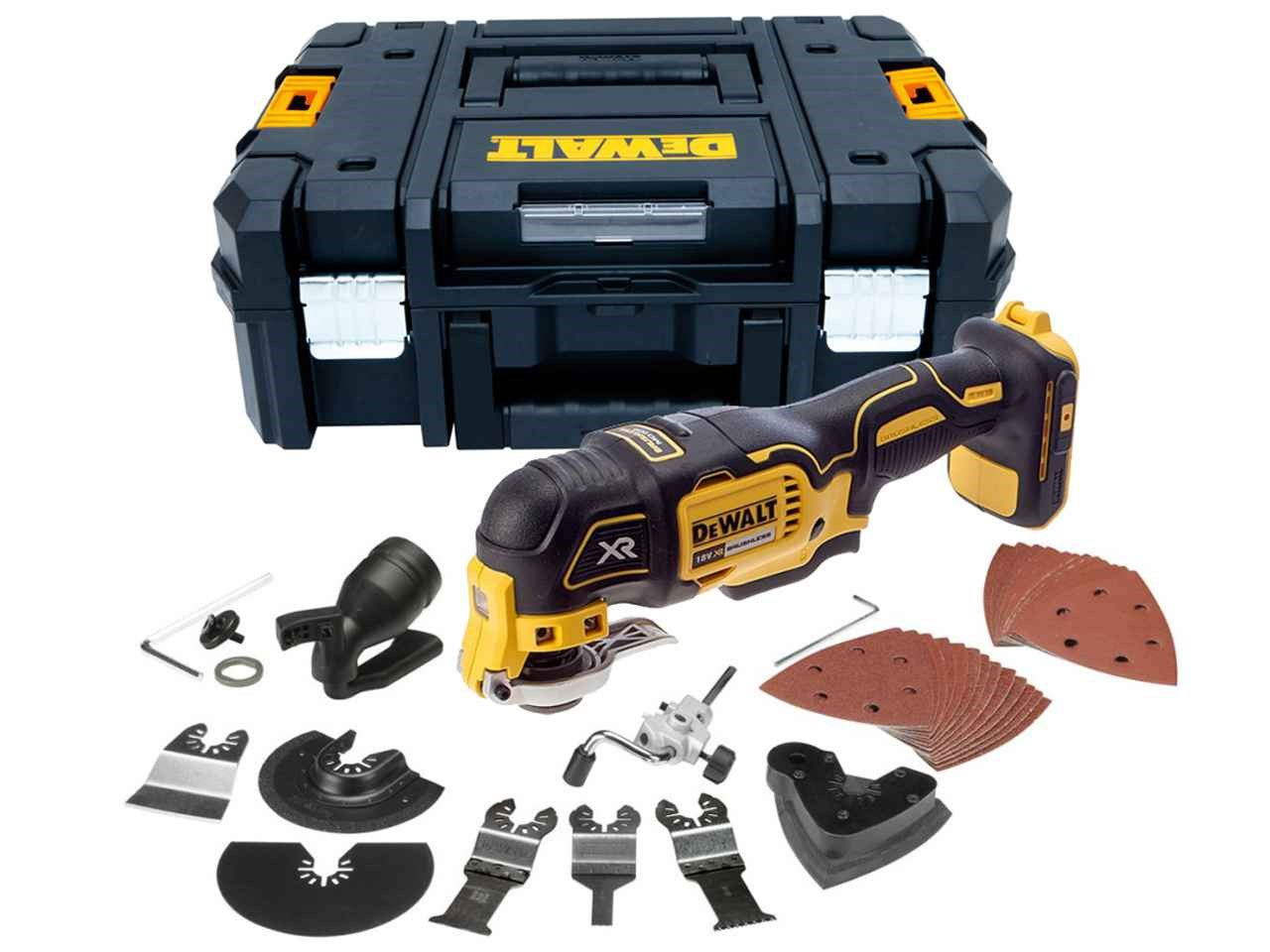 dewalt dcs355nt 18v xr brushless multi tool bare unit in. Black Bedroom Furniture Sets. Home Design Ideas