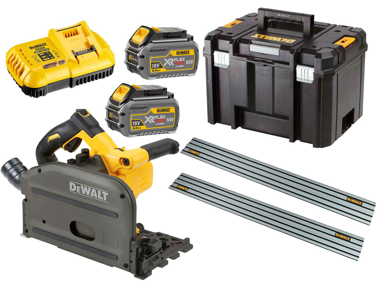 dewalt dcs520t2r gb 54v xr flexvolt 2x6 0ah li ion scie. Black Bedroom Furniture Sets. Home Design Ideas
