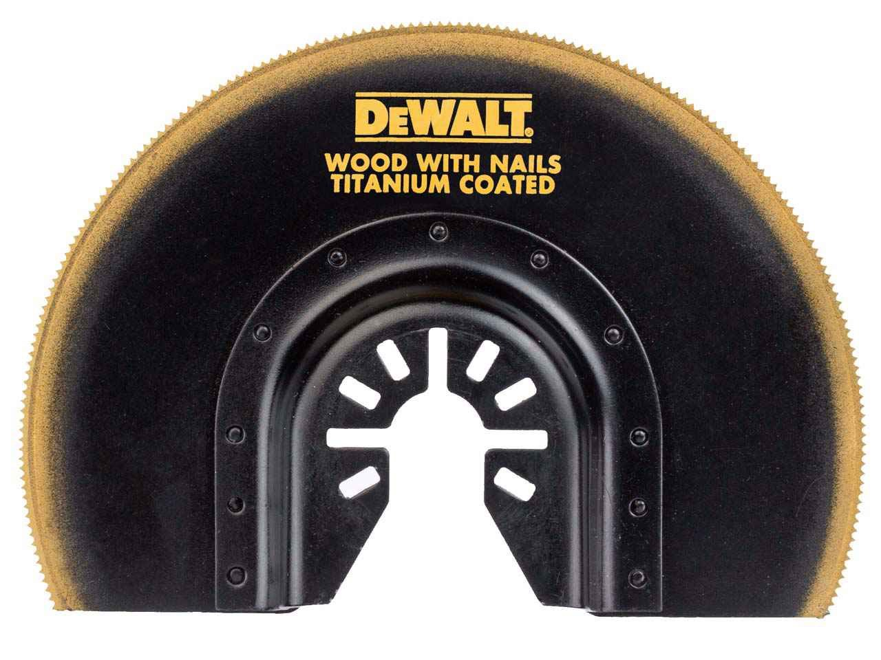DeWalt DT20711-QZ Multi Tool Titanium Flush Cut Blade 100mm