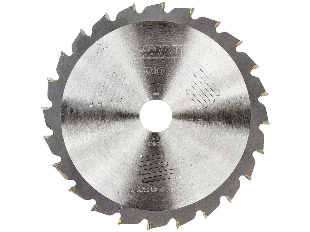 Dewalt dt4310qz extreme circular saw blade 216 x 30 x 24t greentooth Choice Image