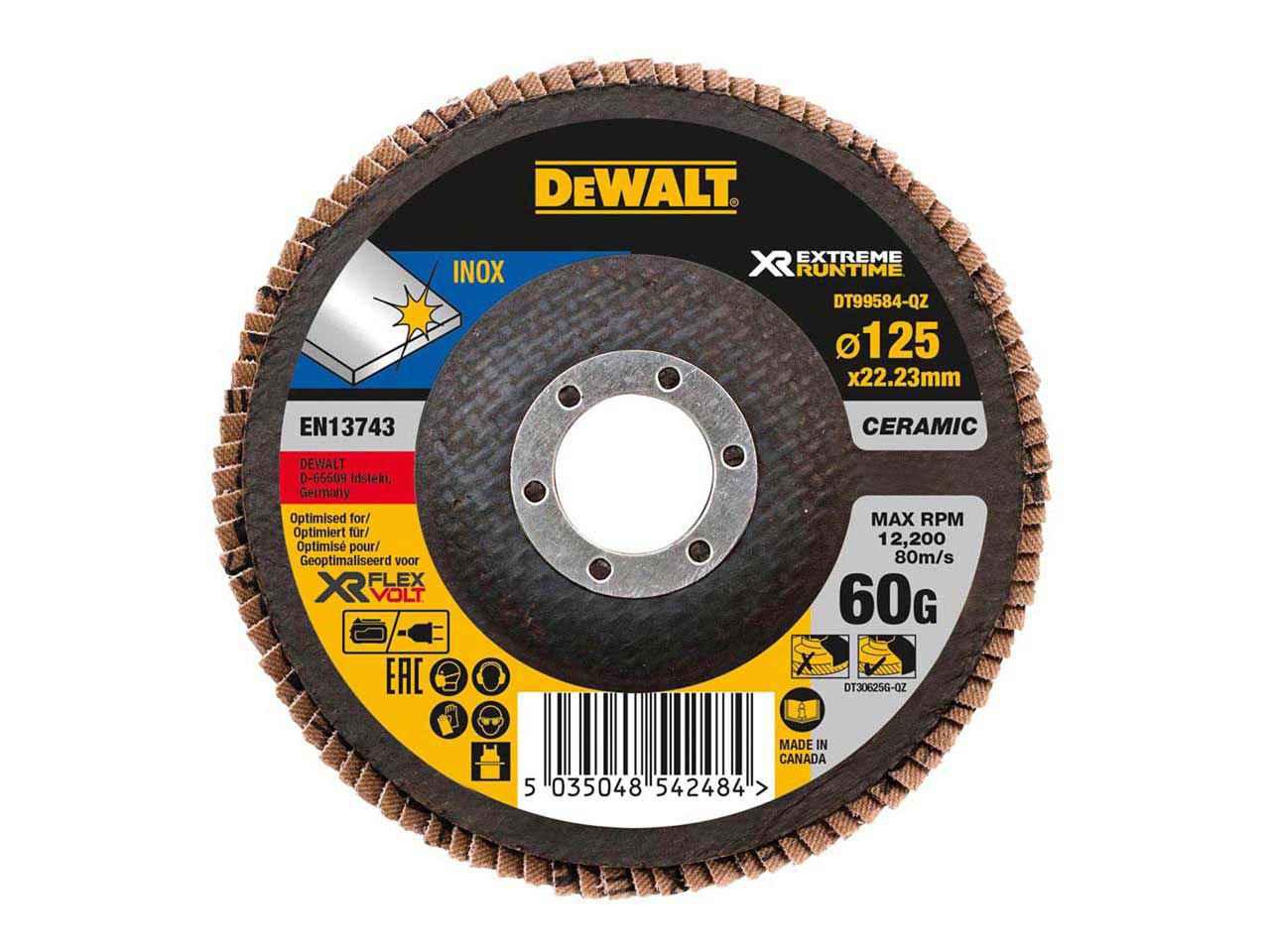Dewalt DT99564QZ 190mm x 30mm Xtreme Runtime 60T Saw Blade DT99564-QZ