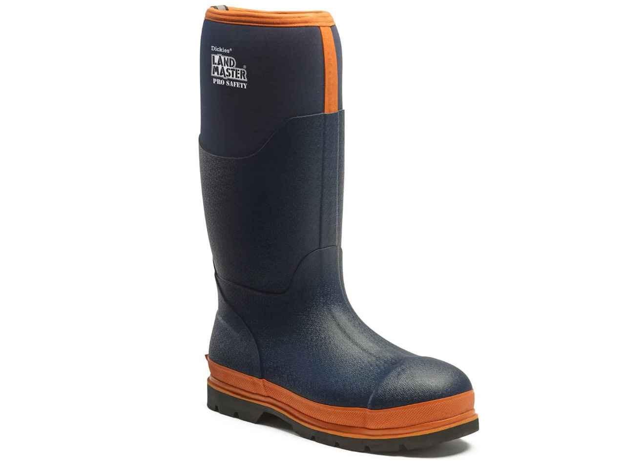 8accd5510a0 Dickies FW9902BO12 Landmaster Pro Safety Wellington Boot Blue/Orange Size 12