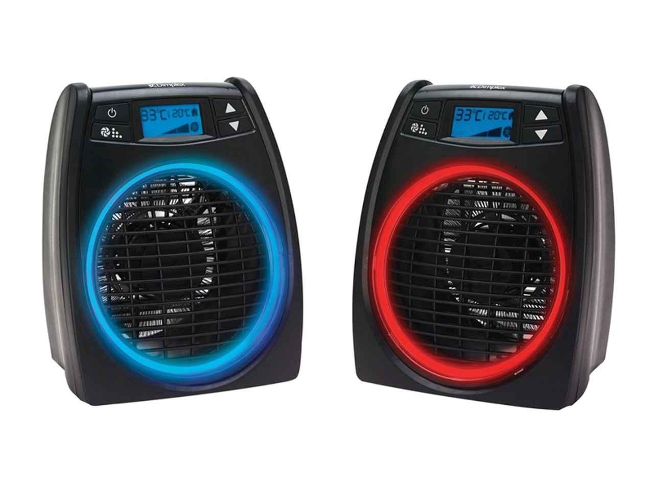 2kW Electric Upright Fan Heater 230V