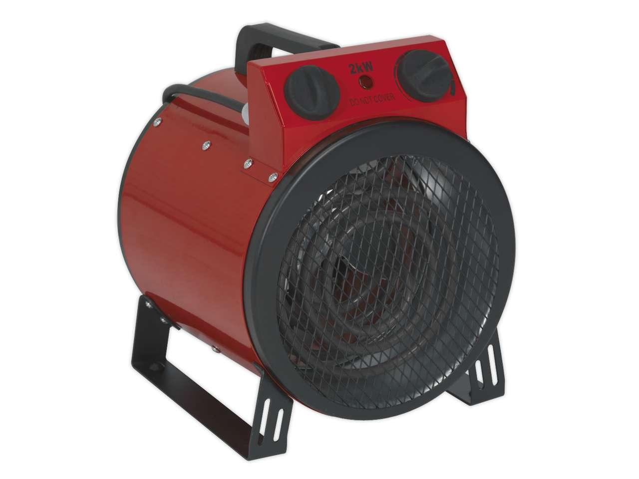2KW Industrial Electric Fan Heater PTC