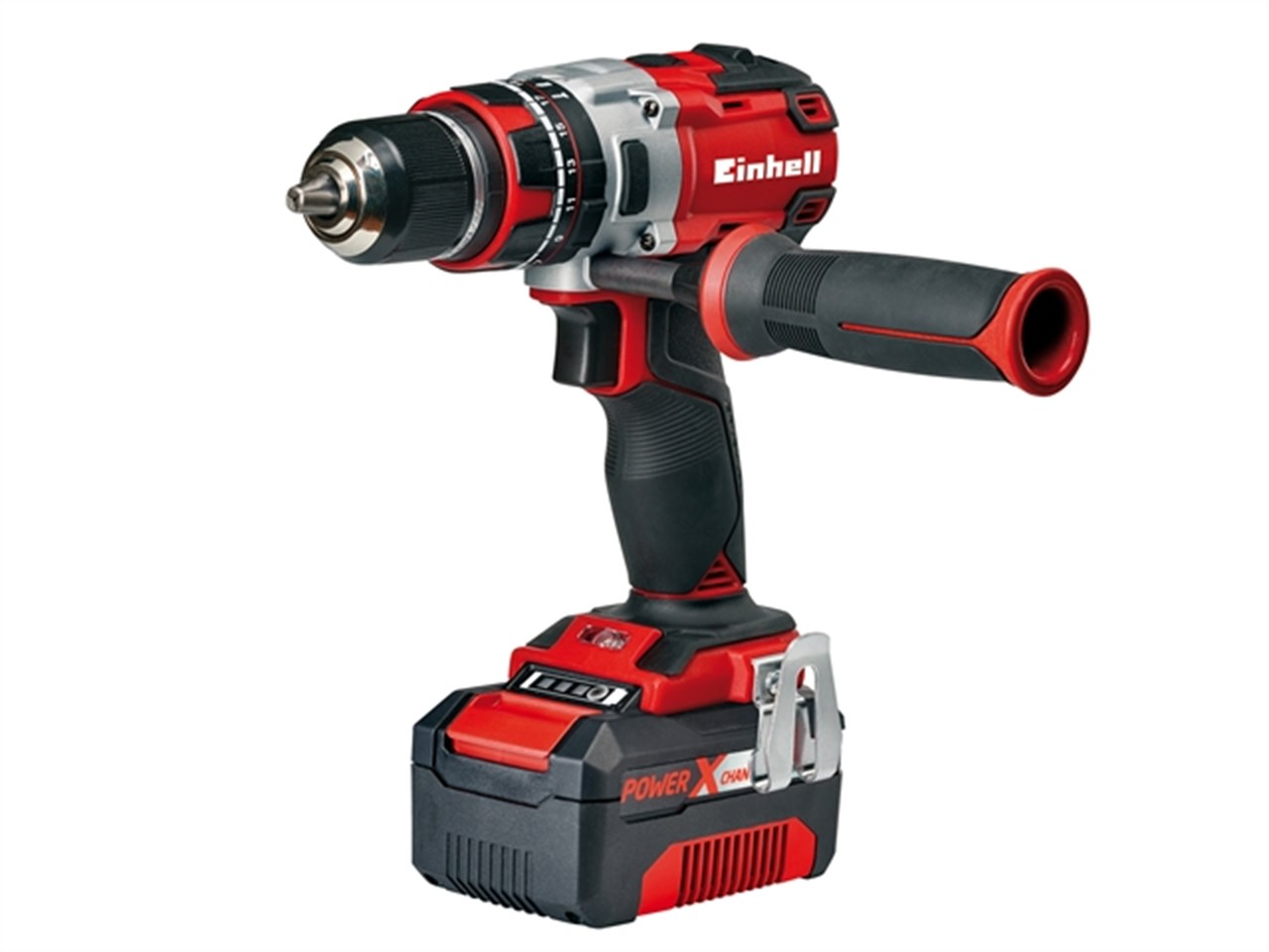 einhell eintecd18bl power x-change brushless hammer drill 18v 1 x