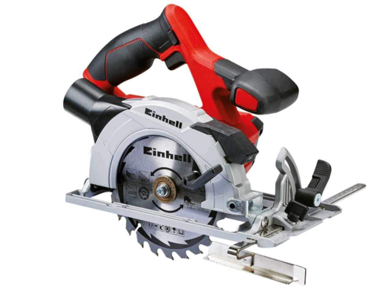 einhell eintecs18lin 18v power x-change circular saw - bare unit