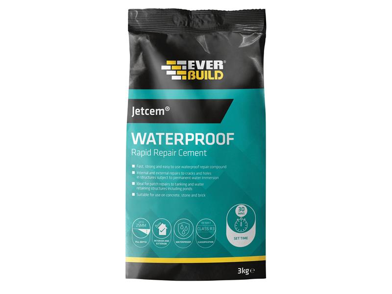 simple 3/kg Everbuild Jetcem EVBJETWAT3/Ciment