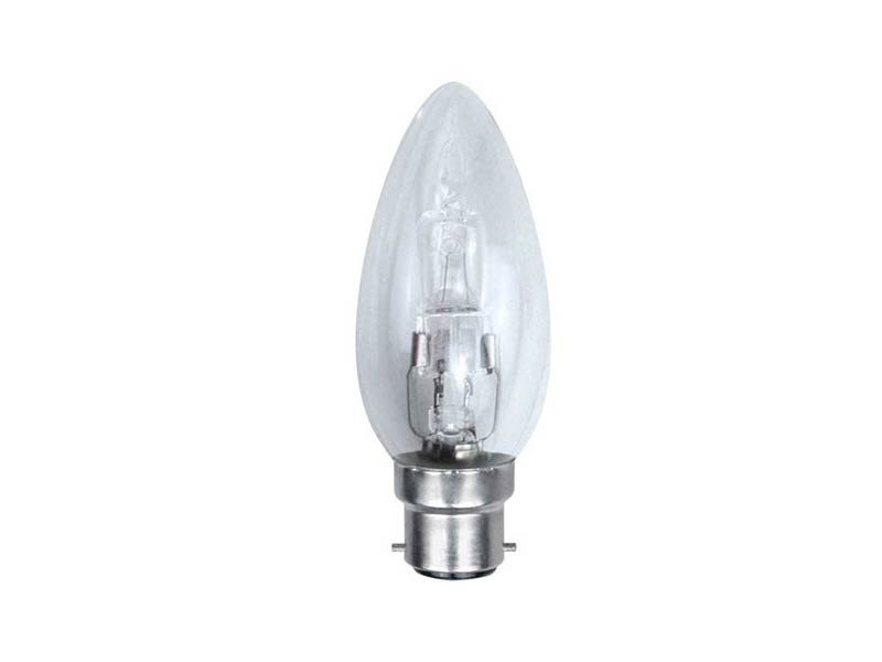 Eveready EVES4871 Candle ECO Halogen 28w B22 Bayonet Cap 2pk