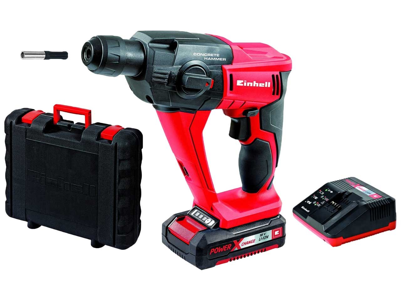 einhell tehd18li 18v li cordless rotary hammer kit 1 x 1 5ah li ion. Black Bedroom Furniture Sets. Home Design Ideas