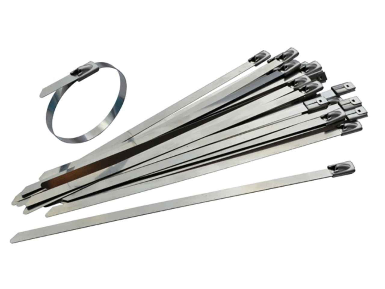 Stainless Steel Wire Ties : Faithfull faict ss stainless steel cable ties