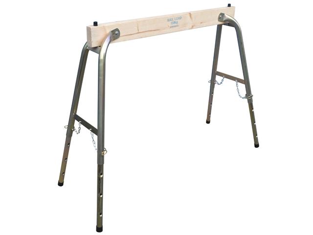 Faithfull FAITRESTLEWO Steel Wood Heavy Duty Adjustable Trestle