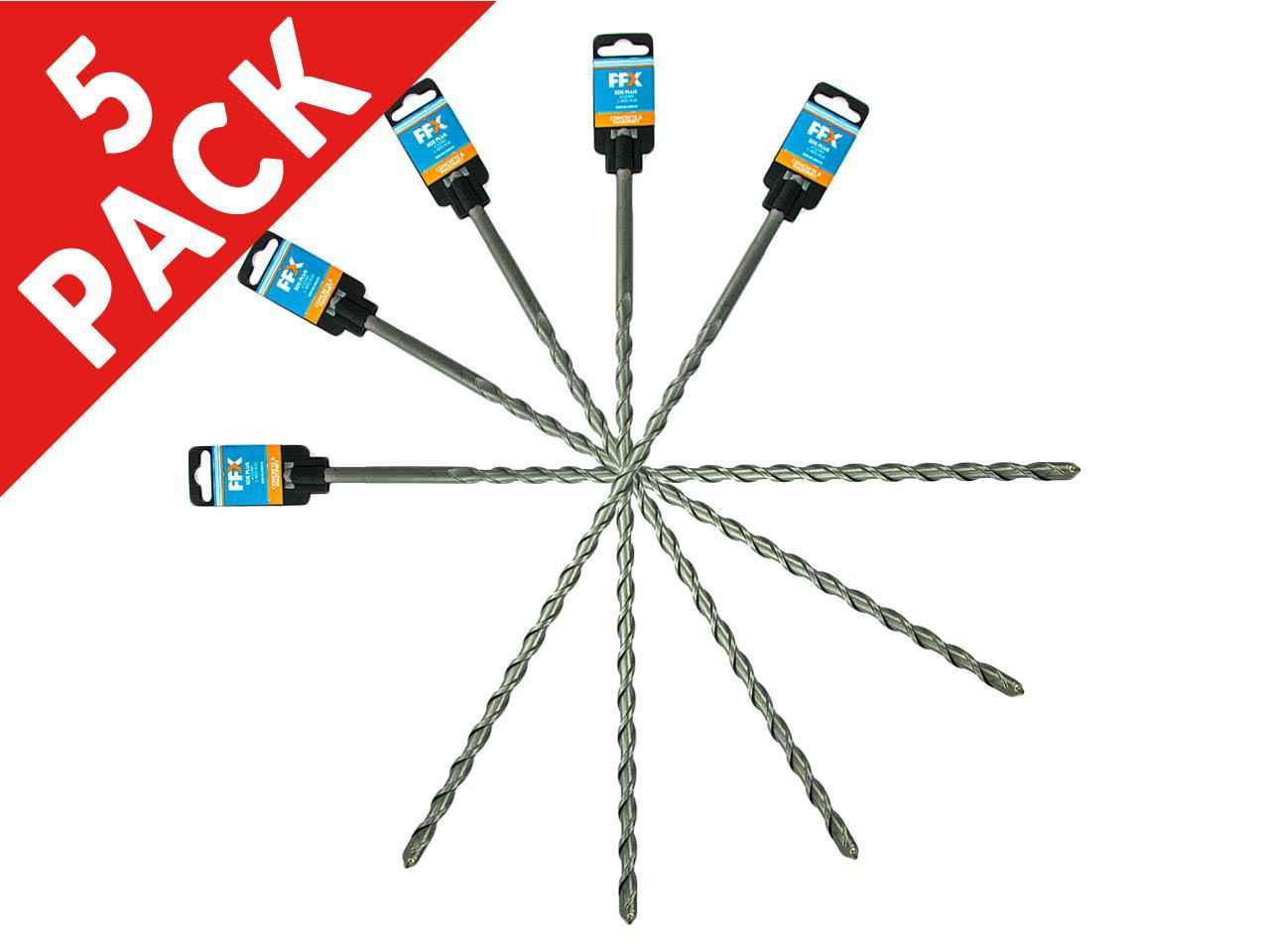 FFX QQ0101200330 15mm x 260mm SDS Plus Drill Bit