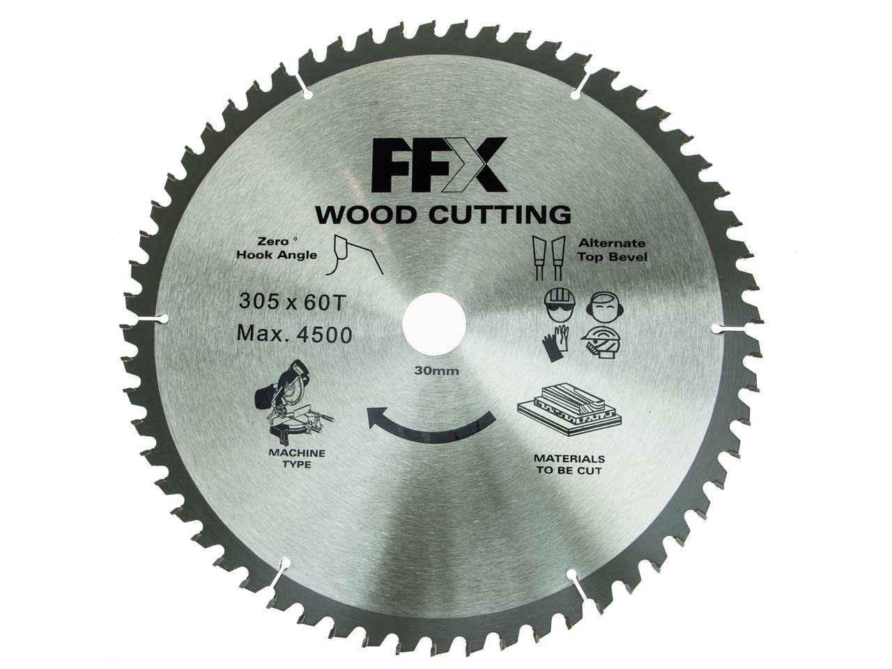 Trend CSB//CC25542 Craft saw blade crosscut 255 mm x 42 T X 30 mm