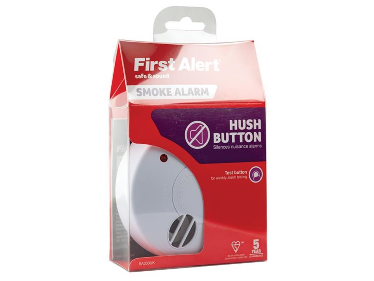 First Alert SA300UK 9v Ionisation Smoke