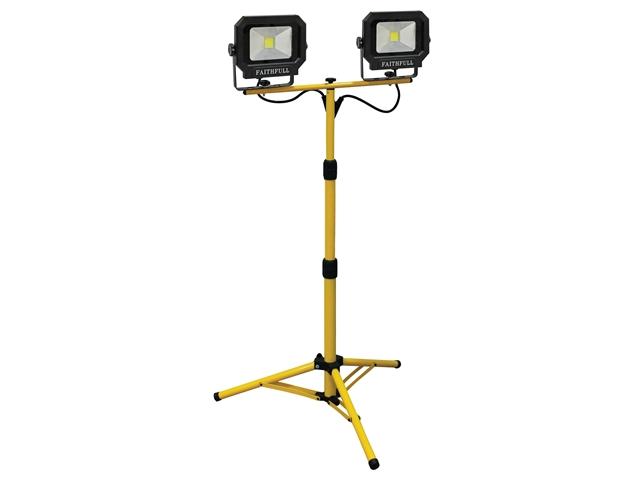 Faithfull Power Plus FPPSLLED20P COB LED Pod Site Light 20W 1400 Lumens 240V