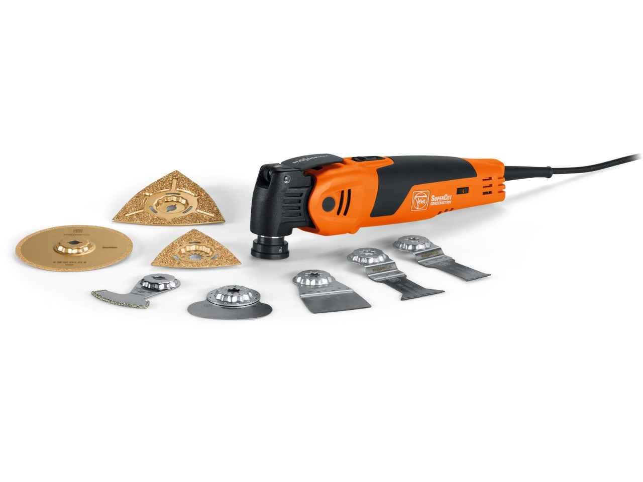 fein fsc500qsl 110v supercut multi-tool tiling kit